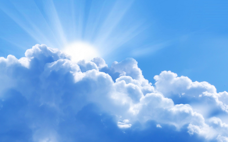 عکس آسمان ابری با کیفیت